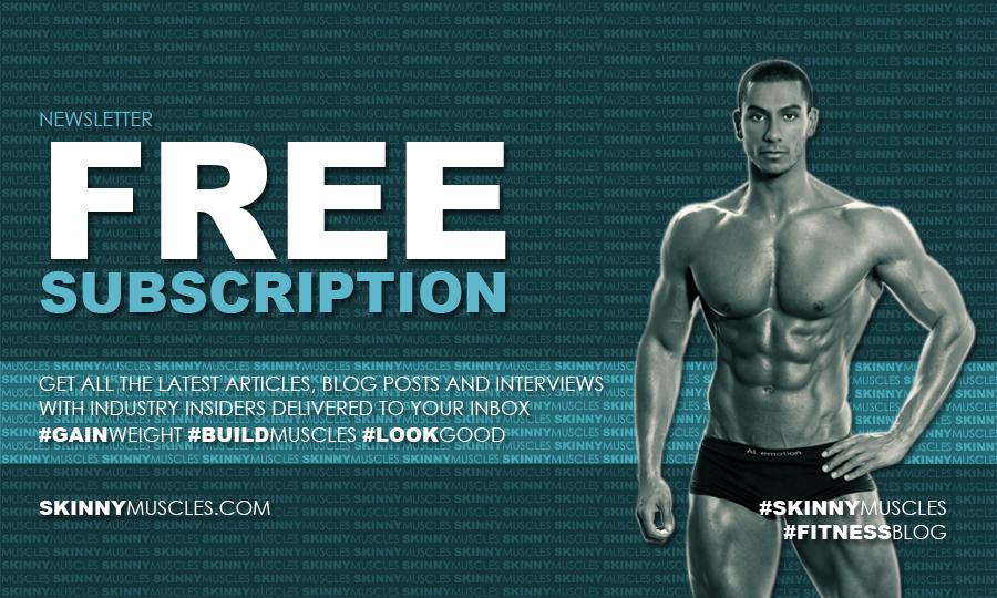 Skinny Muscles newsletter