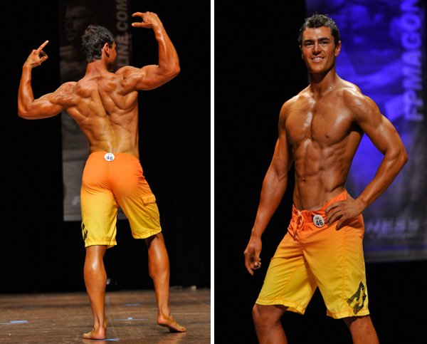 Chris Heskett competing