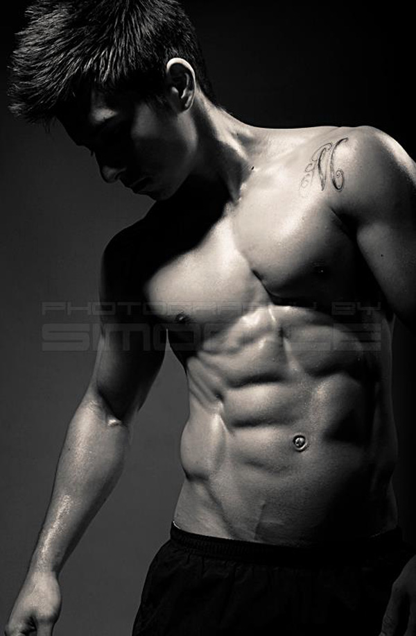 Six Pack Abs Tom Imanishi S Home Ab Circuit Skinny Muscles