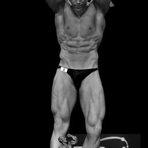 Justin Degutis competing at BNBF