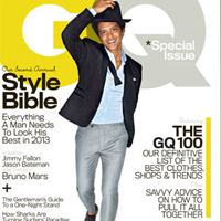 Get the look of Bruno Mars