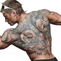 Bodybuilding and tattoos  are they a good match?
