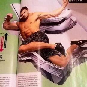 Tristan Edwards magazine pages
