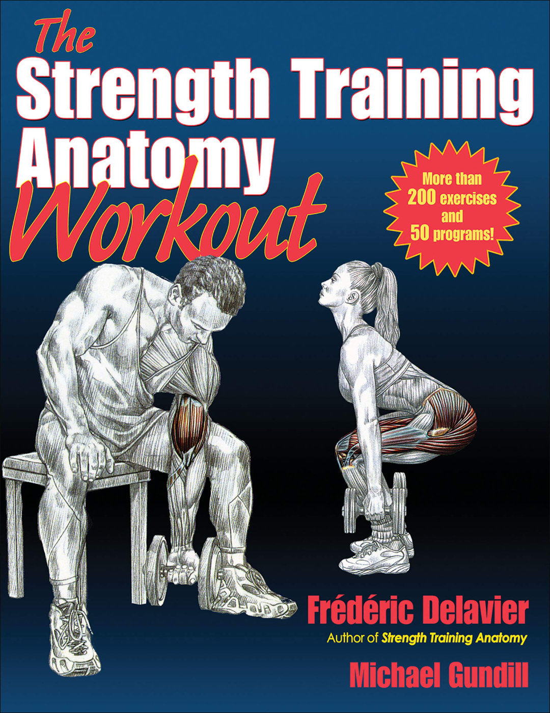 strength training anatomy workout book, frederic delavier