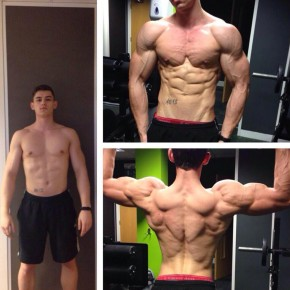 Luke Sumner-Wilson - transformation