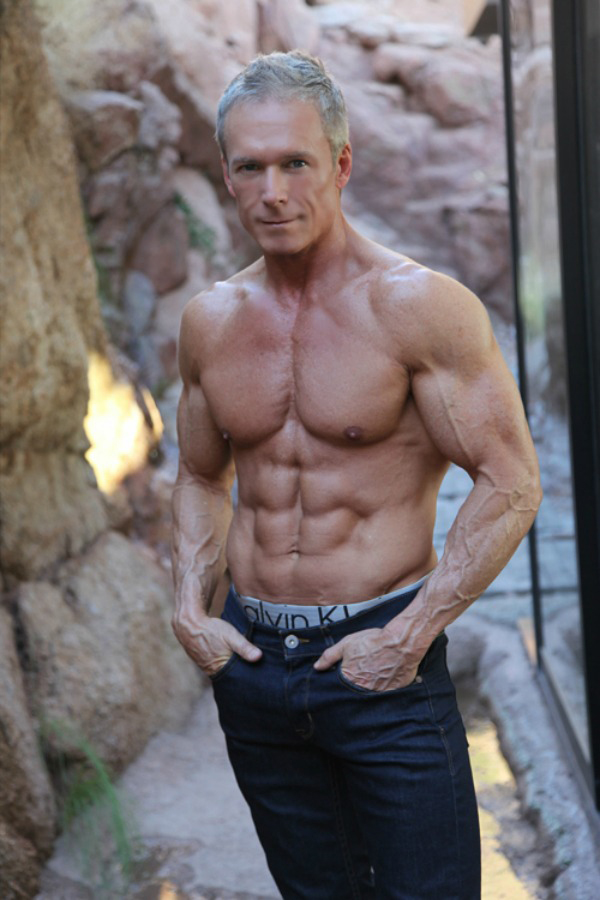 Philip J Hoffman Six Pack Abs Skinny Muscles