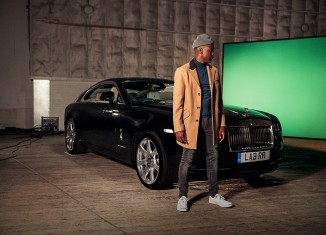 Labrinth with Rolls-Royce Wraith