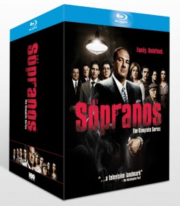 The Sopranos: The Complete Series Box Set Blu-ray