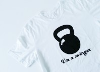 fitness wear house white t-shirt