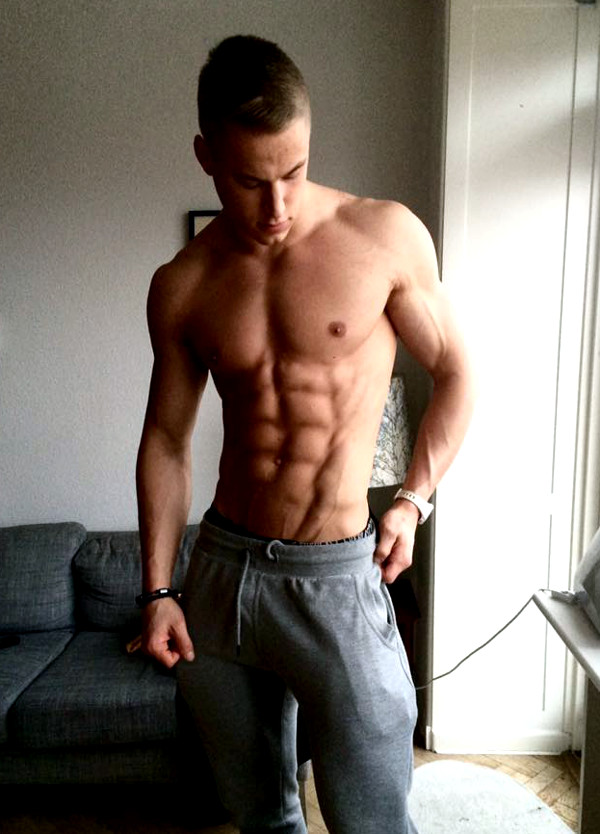 martin larsen, the great dane, danish fitness model