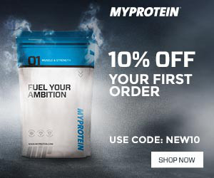 MYPROTEIN 10% OFF your first order