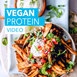 Vegan protein sources for lean muscles and fat loss