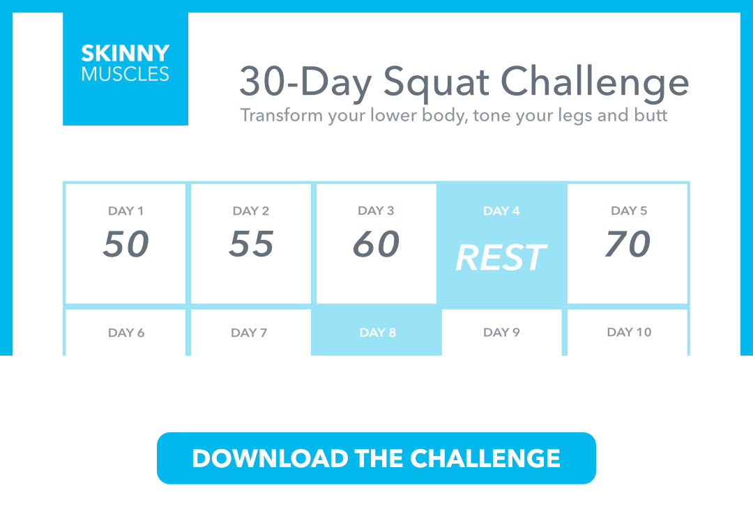 new squat challenge for 30 days