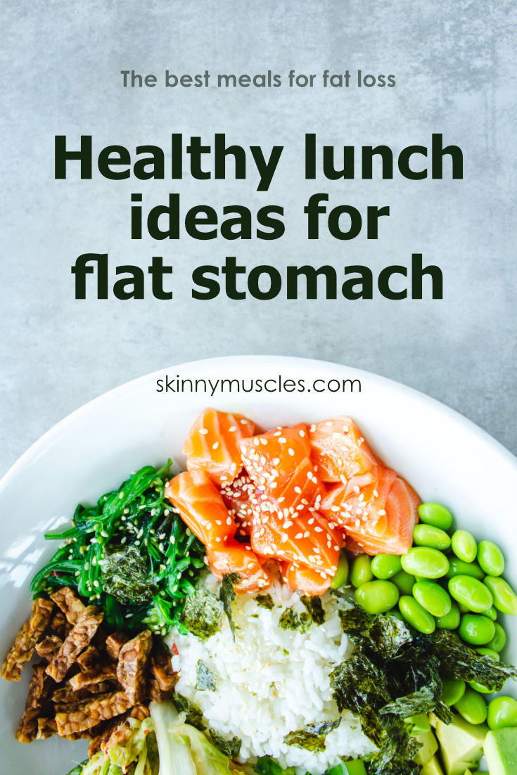 lunch meals for six pack abs