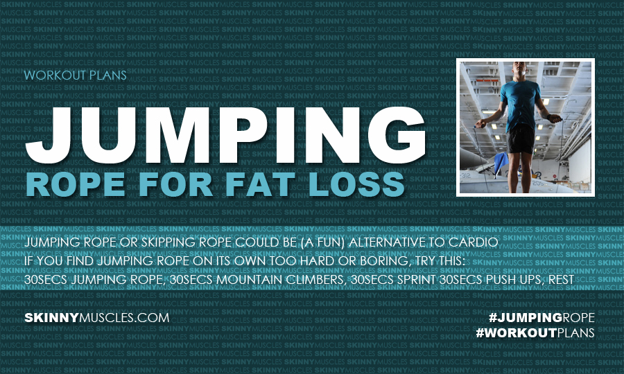Jumping rope for fat loss
